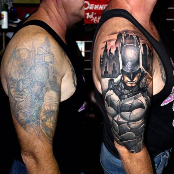Стираем ошибки молодости: 26 неудачных татуировок до и после их изменения