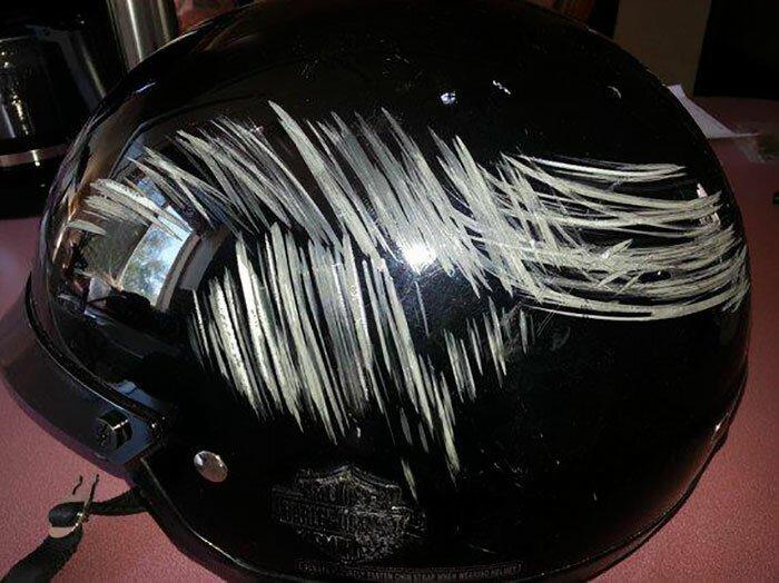 Нужен ли шлем на голове: эти фотографии развеют последние сомнения у тех, у кого они еще были